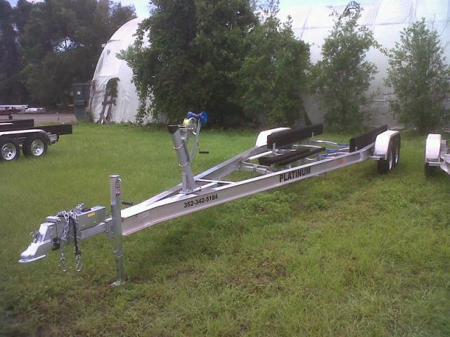 Tandem Axle Boat Trailers, Aluminum Custom Built Boat Trailers